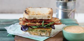 Fried green tomato BLTs with remoulade | Easy Food