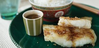 Chinese pan-fried hake with soy sauce Easy Food