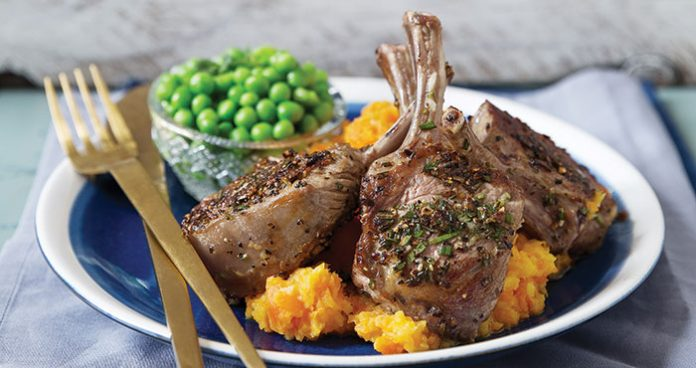 Rosemary lamb chops with carrot and parsnip mash Easy Food