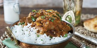 Fiery Indian lamb curry Easy Food