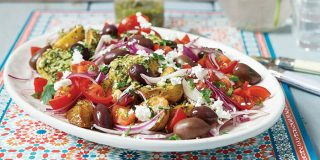 Mediterranean potato salad | Easy Food
