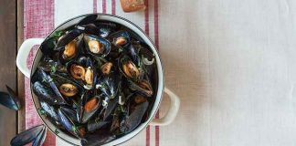 Mussels moules cider cream Easy Food