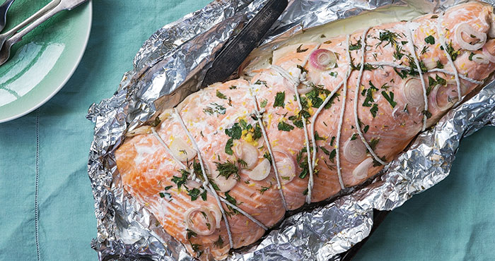 So-simple roast salmon | Easy Food