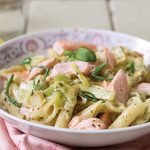 Salmon and leek pesto pasta | Easy Food
