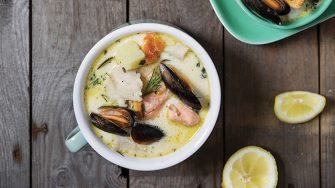 Classic seafood chowder | Easy Food
