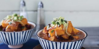 Super-simple sweet potato chilli Easy Food