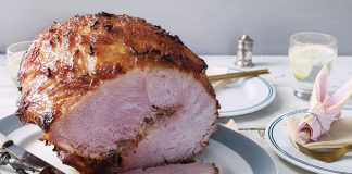 Sweet and sticky ham Easy Food