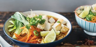 Easy veggie pho Easy Food