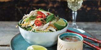 Vietnamese chicken salad Easy Food