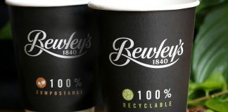 Bewleys recyclable compostable coffee cups Ireland Easy Food