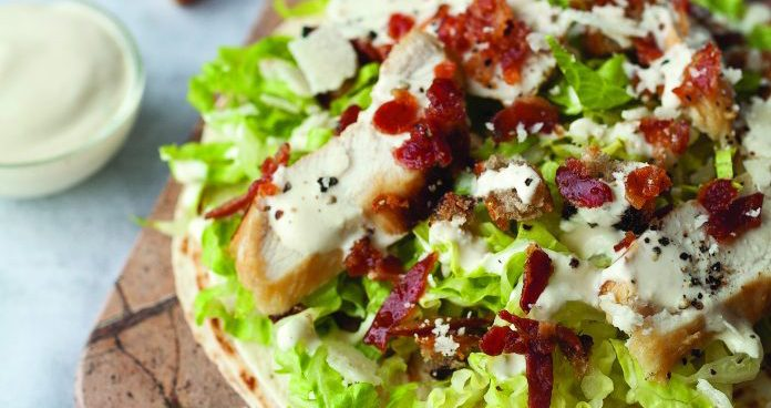 chicken Caesar wraps Easy Food