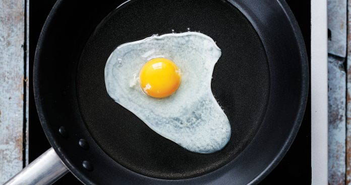 Egg, how to, step by step