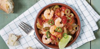 Prawns à la veracruzana | Easy Food