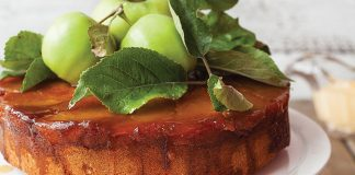 Caramel and apple upside-down cake   Easy Food