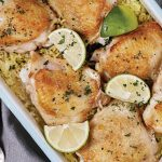 Baked honey and lime chicken and rice Easy Food