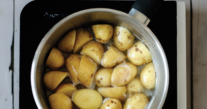 How To Boil Potatoes Easy Food