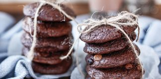 Chocolate brownie cookies Easy Food