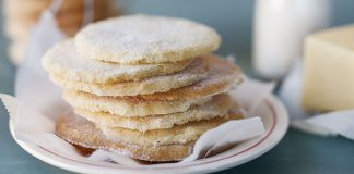 Irish butter shortbread biscuits