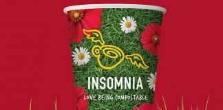 Insomnia Mission Compostable World Cup Easy Food