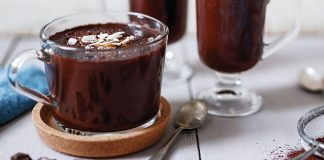Nutty hot chocolate