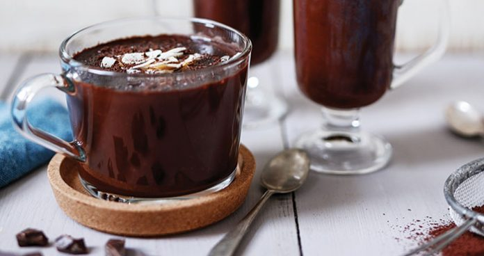 Nutty hot chocolate Easy Food