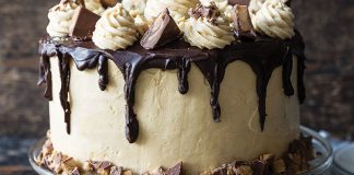 Chocolate peanut butter party cake Easy Food