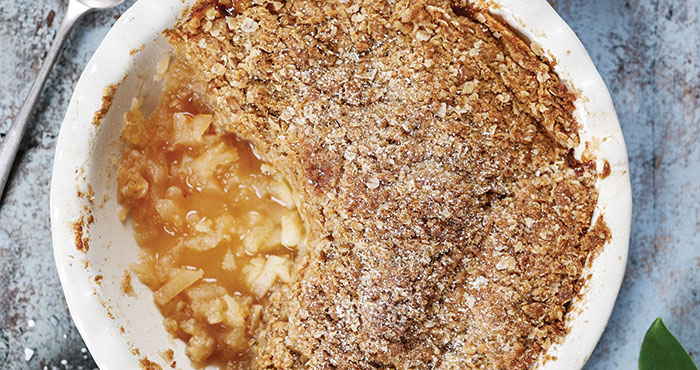 Perfect apple crumble Easy Food