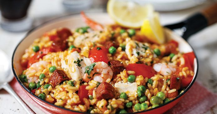 Perfect paella Easy Food