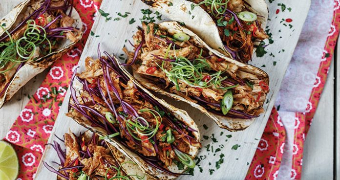 Hoisin pork tacos Easy Food