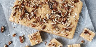 Salted caramel pecan fudge Easy Food