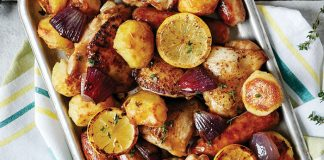 Sausage and chicken bake Easy Food