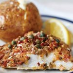 Spicy baked fish with lemon butter sauce Easy Food