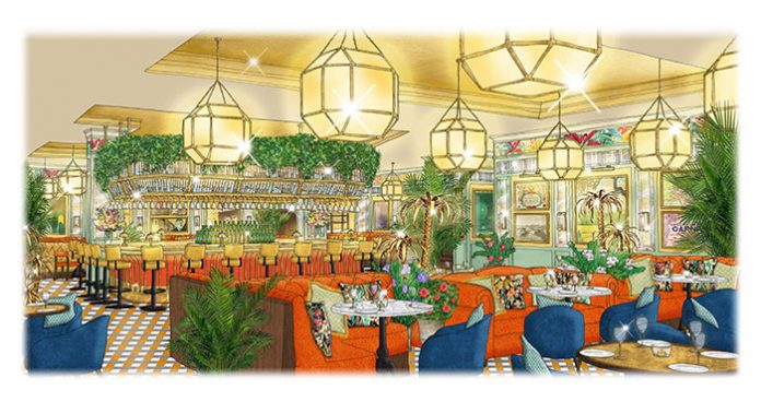 Artist's impression of The Ivy