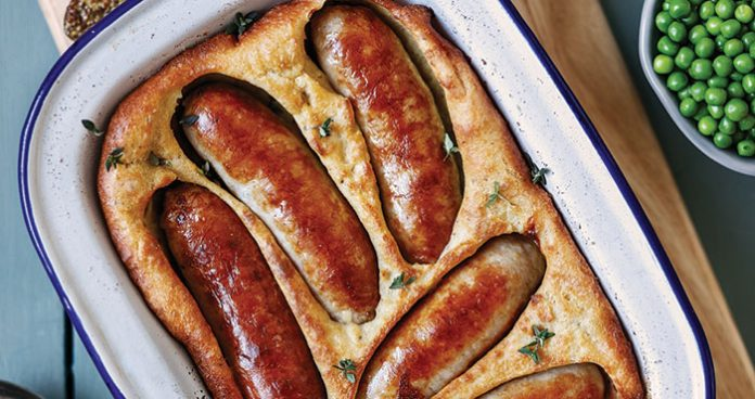 All-Irish toad-in-the-hole