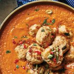 Turkey kofta curry