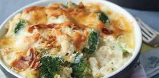 Bacon broccoli mac and cheese. Easy Food