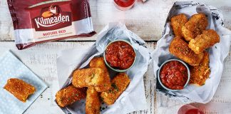 Breaded fried Cheddar sticks with spicy tomato dip Kilmeaden Easy Food