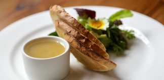Duck Liver Pate of 4 Vicars Restaurant Armagh