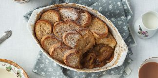 Apple Cinnamon French toast bake. Easy Food