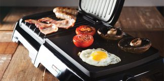 George Foreman Gril & Griddle. Easy Food