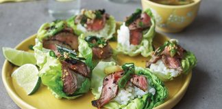 Steak lettuce cups Easy Food