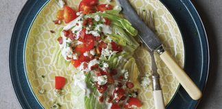 Classic wedge salad Easy Food