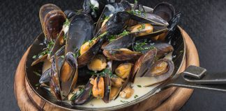 Armagh cider mussels