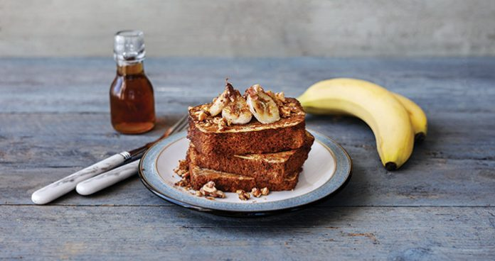 Banana bread French toast Easy Food