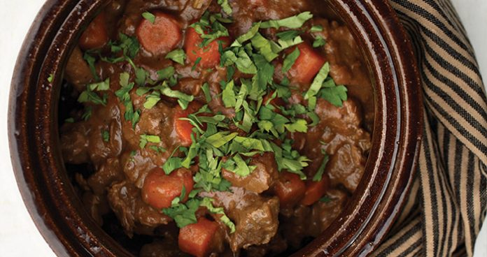 Beef and Guinness stew Easy Food