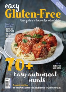Easy Gluten Free Autumn 2018 cover Easy Food