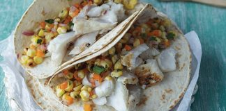 Simple fish tacos Easy Food