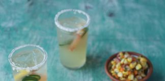 Spicy grapefruit margaritas Easy Food