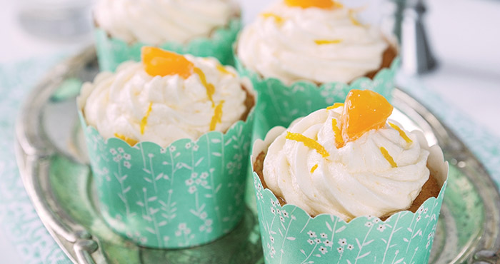 Gin and tonic cupcakes Easy Food