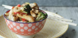 Honey chicken cashew stirfry Easy Food
